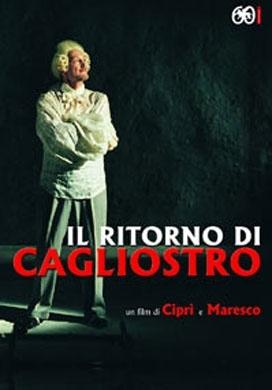 La copertina DVD di Il ritorno di Cagliostro