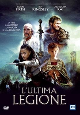 La copertina DVD di L'ultima legione