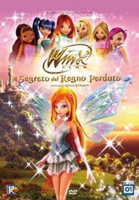La copertina DVD di Winx Club - Il segreto del regno perduto - Special Edition