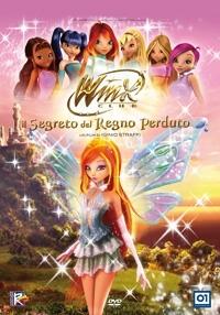 La copertina DVD di Winx Club - Il segreto del regno perduto