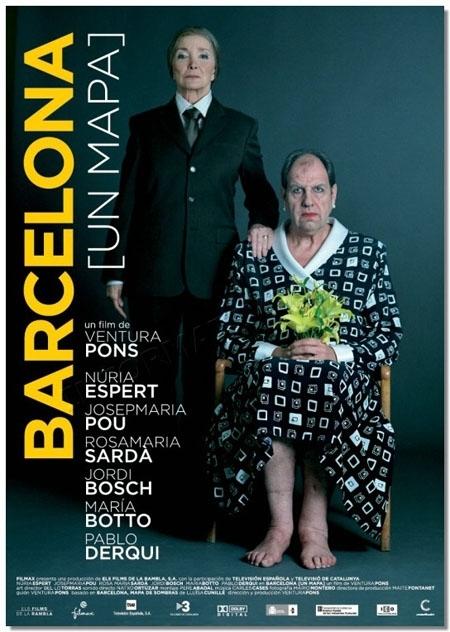 La locandina di Barcelona, un mapa