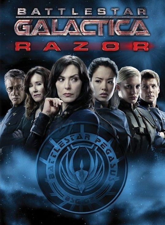 La locandina di Battlestar Galactica: Razor