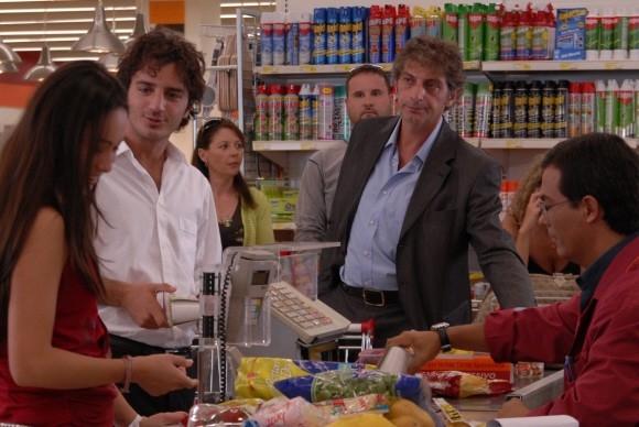 Nicolas Vaporidis in una foto del film Questa notte è ancora nostra