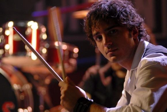 Un'immagine di Nicolas Vaporidis nel film Questa notte è ancora nostra di Miniero e Genovese