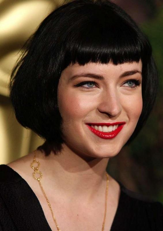 Diablo Cody, nominata all'Oscar per la sceneggiature di Juno, al Nominees Luncheon 2008