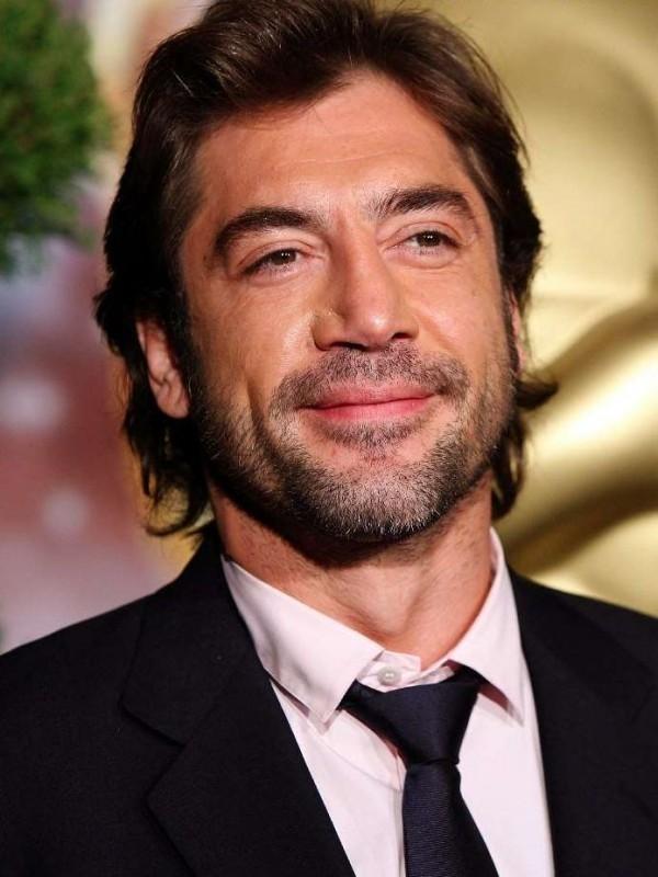 Javier Bardem, nominato all'Oscar come miglior attore non protagonista per Non è un paese per vecchi, fotografato al Nominees Luncheon 2008