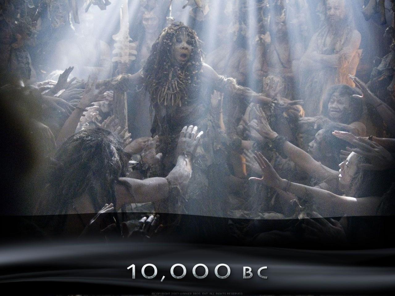 Wallpaper del film 10000 AC con una sequenza del film
