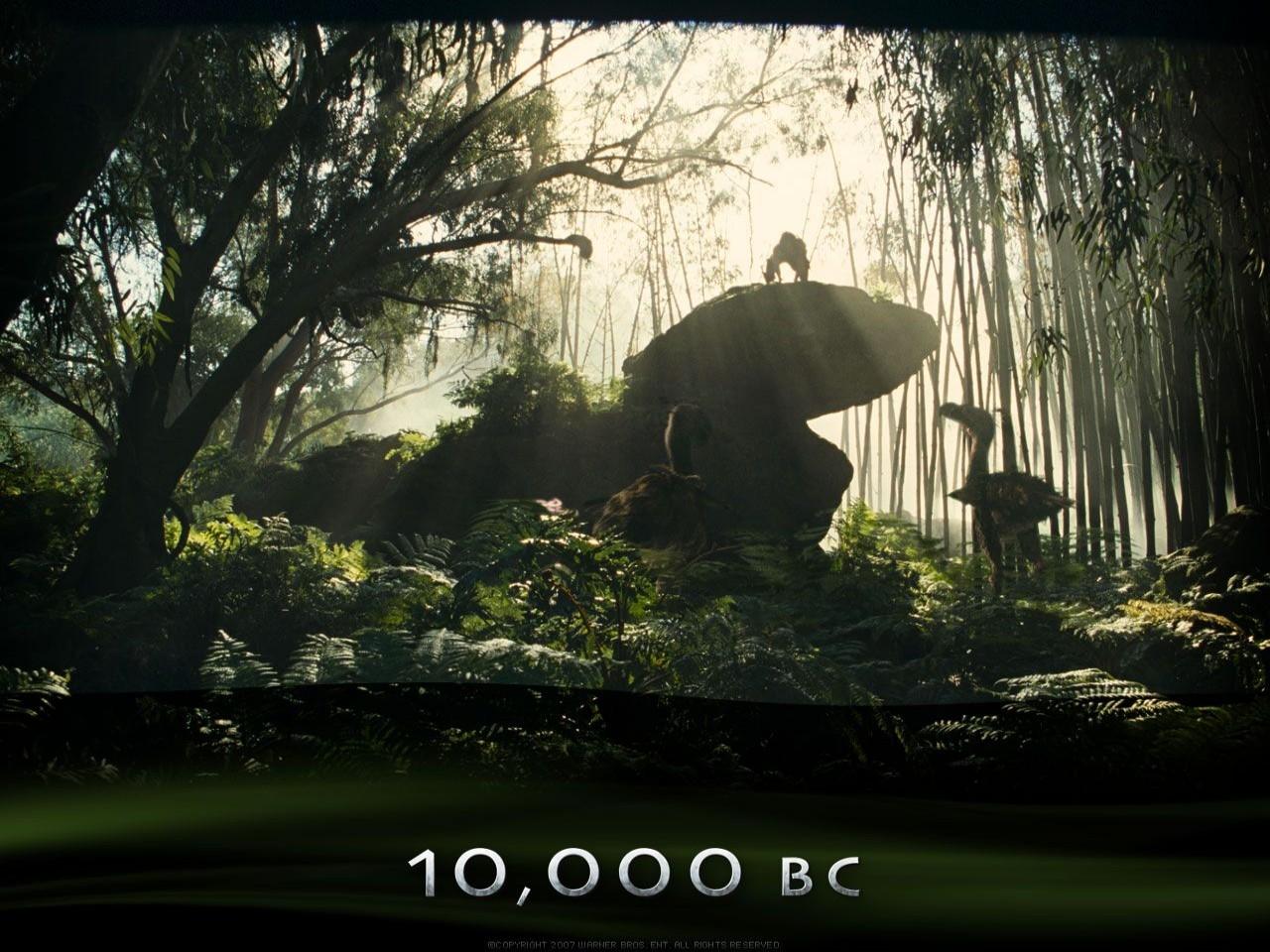 Un suggestivo desktop wallpaper del film 10000 AC