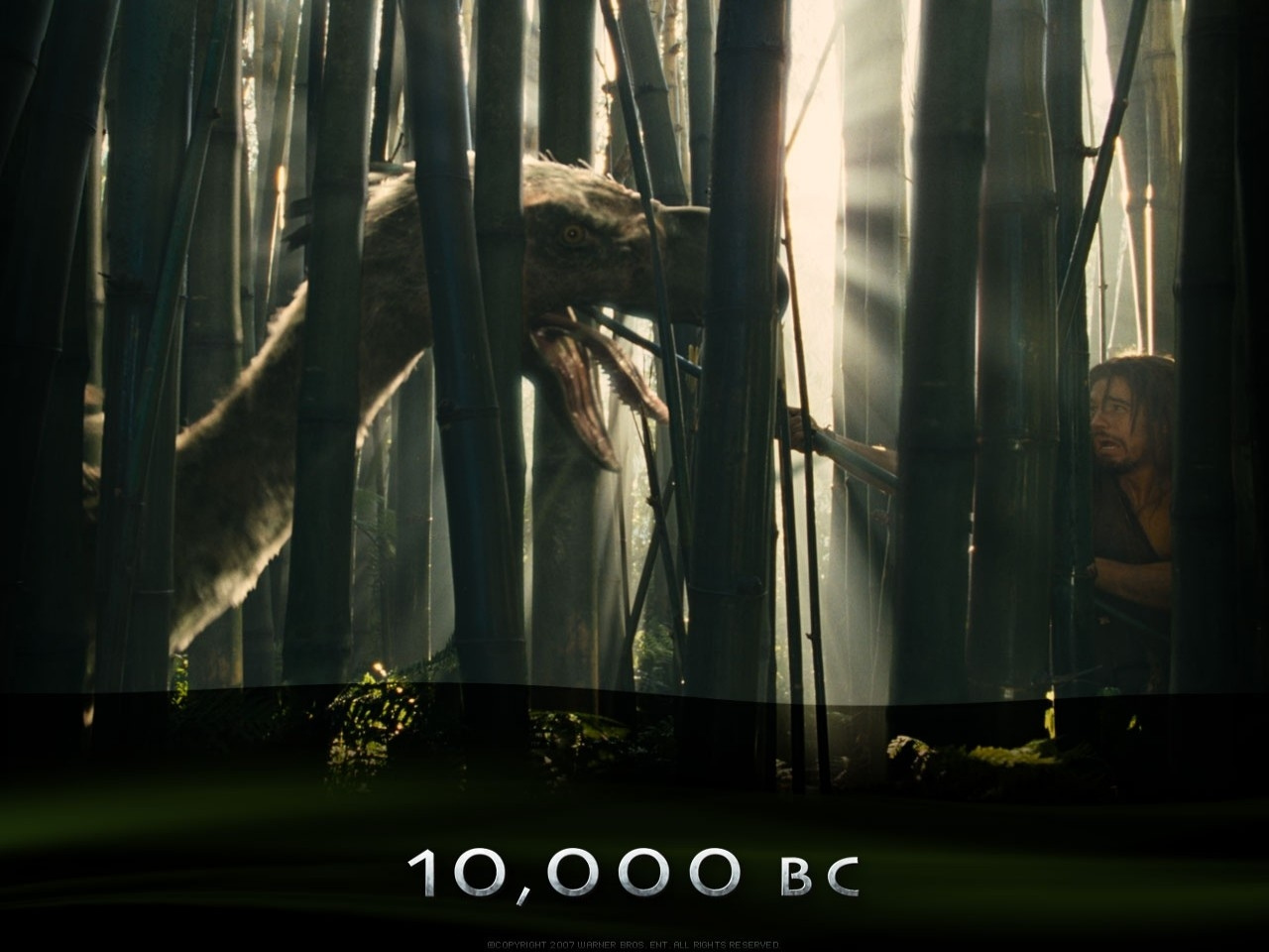 Wallpaper del film 10000 AC, interpretato da Camilla Belle e Steven Strait
