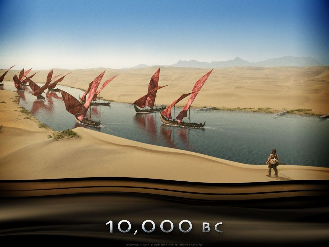 Un suggestivo wallpaper del film 10000 AC