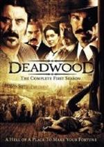 La copertina DVD di Deadwood Stagione 1 (4 dvd)