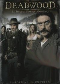 La copertina DVD di Deadwood Stagione 2 (4 dvd)