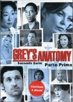 La copertina DVD di Grey's Anatomy - Stagione 2 - Parte 1 (4 dvd)