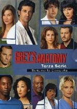La copertina DVD di Grey's Anatomy - Stagione 3 (7 dvd)