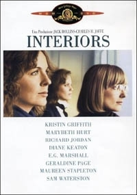 La copertina DVD di Interiors