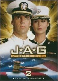 La copertina DVD di JAG - Avvocati in divisa - Stagione 2 (4 dvd)