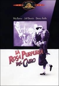 La copertina DVD di La rosa purpurea del Cairo