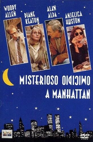 La copertina DVD di Misterioso omicidio a Manhattan