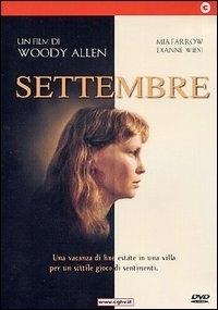 La copertina DVD di Settembre