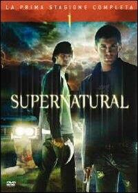 La copertina DVD di Supernatural Stagione 1 (6 dvd)