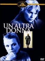 La copertina DVD di Un'altra donna