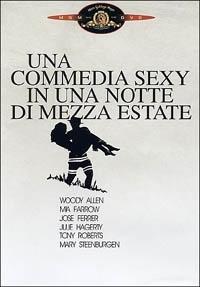La copertina DVD di Una commedia sexy in una notte di mezza estate