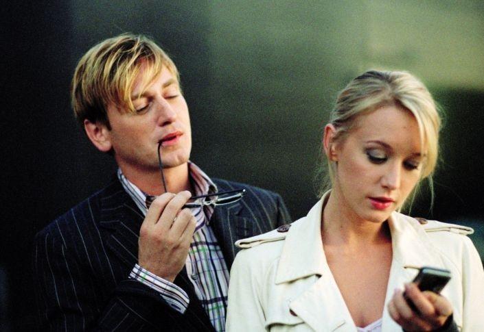 Ludivine Sagnier con Benoit Magimel in una scena de L'innocenza del peccato