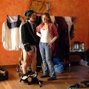 Rocco Papaleo in una scena del film Non c'è più niente da fare