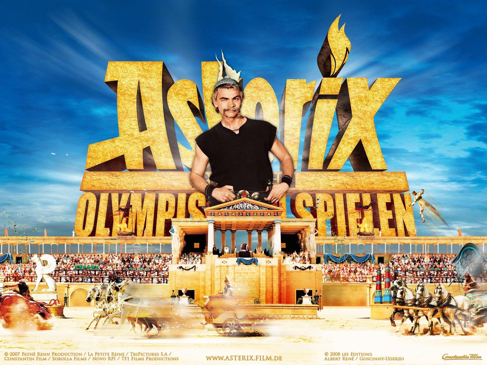 Wallpaper del film Asterix alle Olimpiadi con Clovis Cornillac