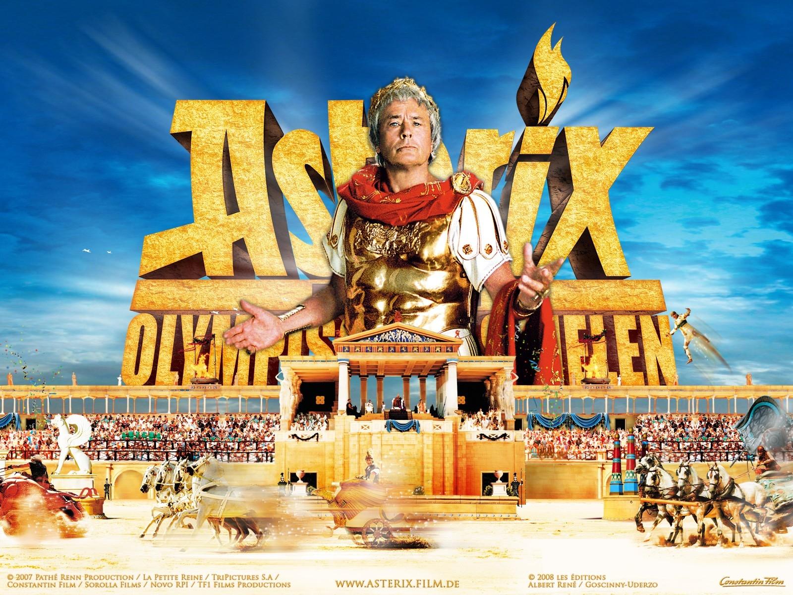 Wallpaper del film Asterix alle Olimpiadi con Alain Delon