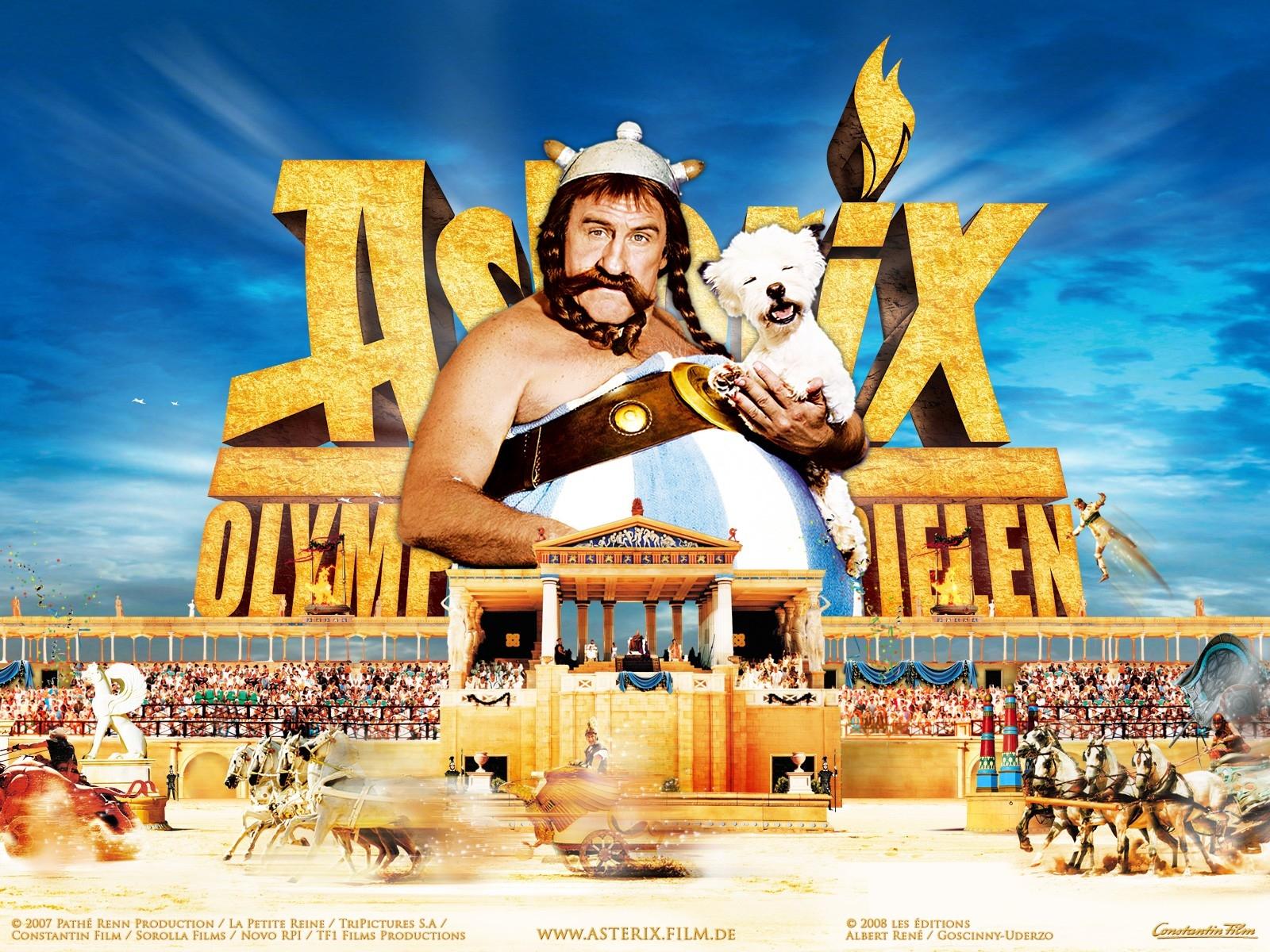 Wallpaper del film Asterix alle Olimpiadi con Depardieu
