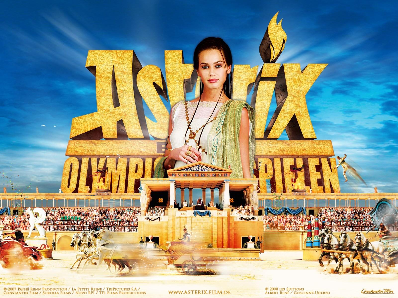 Wallpaper del film Asterix alle Olimpiadi con la bella Vanessa Hessler
