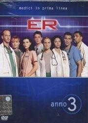 La copertina DVD di E.R. - Medici in prima linea, Stagione 03