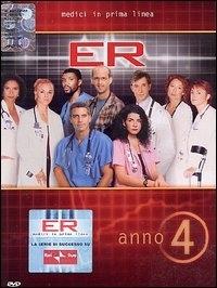 La copertina DVD di E.R. - Medici in prima linea, Stagione 04