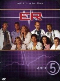 La copertina DVD di E.R. - Medici in prima linea, Stagione 05