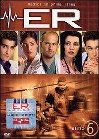 La copertina DVD di E.R. - Medici in prima linea, Stagione 06
