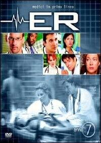 La copertina DVD di E.R. - Medici in prima linea, Stagione 07