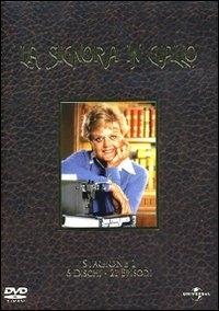 La copertina DVD di La Signora in Giallo - Stagione 1