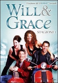 La copertina DVD di Will & Grace - Stagione 1