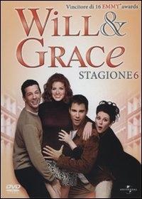 La copertina DVD di Will & Grace - Stagione 6