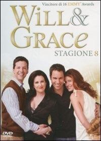 La copertina DVD di Will & Grace - Stagione 8