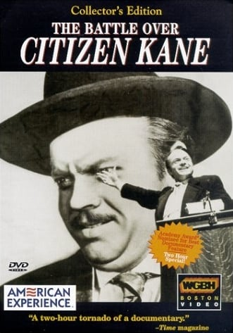 La locandina di The battle over Citizen Kane