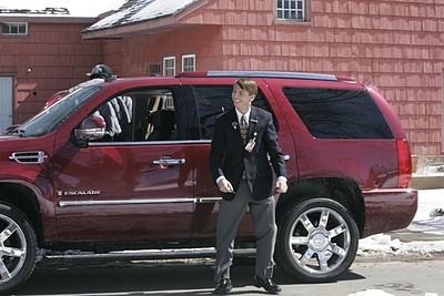 Jack McBrayer in una scena dell'episodio 'Hiatus' della prima stagione di 30 Rock