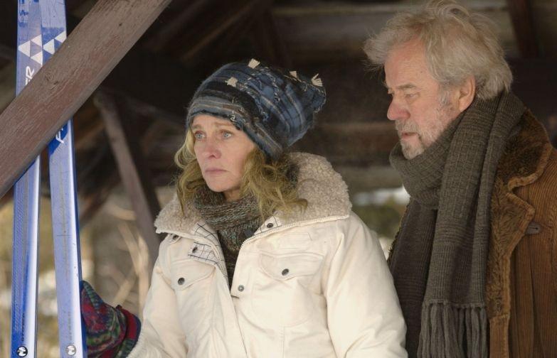 Julie Christie e Gordon Pinsent in una scena di Away from Her - Lontano da lei