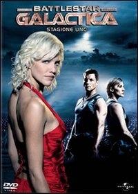 La copertina DVD di Battlestar Galactica - Stagione 1