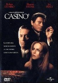 La copertina DVD di Casinò