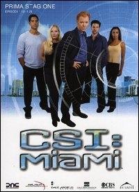 La copertina DVD di CSI: Miami - Stagione 1 - Parte 2