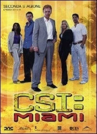 La copertina DVD di CSI: Miami - Stagione 2 - Parte 1