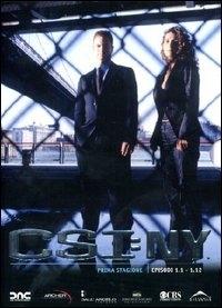 La copertina DVD di CSI: New York - Stagione 1 - Parte 1