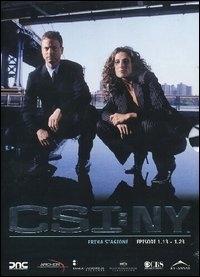 La copertina DVD di CSI: New York - Stagione 1 - Parte 2